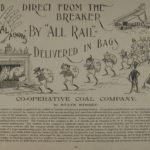 Advertisement for Co-operative Coal Company, 1894-1895