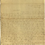 3.Letter from Charlotte to Samuel Cowles, Farmington, June 22, 1838