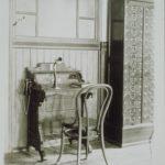 Desk telephone, 1889