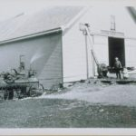Filling silo by steam, 1905