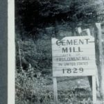 First cement mill in the United States, Milford