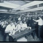 Hartford Rubber Works cafeteria, 1920