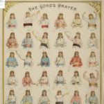 Lord's prayer in sign language, ca. 1890