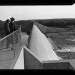 Mansfield Hollow Dam, 1954