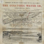 Advertisement for Ousatonic Water Company (water power for sale or rent), Birmingham, 1870-1994