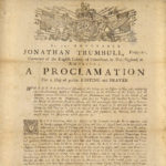 Proclamation for a day of fasting and prayer, 1774