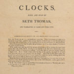 Clocks made and sold by Seth Thomas, 1810s
