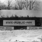 Signs for Wharton Brook State Park, 1918