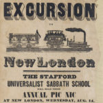 Stafford Sabbath school excursion to New London, 1850