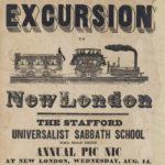 Stafford Sabbath school excursion to New London, 1850