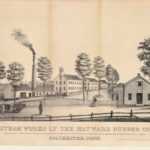 Steam works of the Hayward Rubber Company, Colchester, ca. 1850