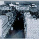 Supermarket interior, 1946