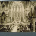 Wedding in St. Joseph's Cathedral, Hartford, 1940s