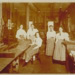 Women workers, Chapin plane factory, Pine Meadow (New Hartford), 1890